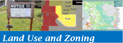 Open the Land Use and Zoning map theme
