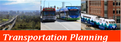 Open the Transportation Planning map theme
