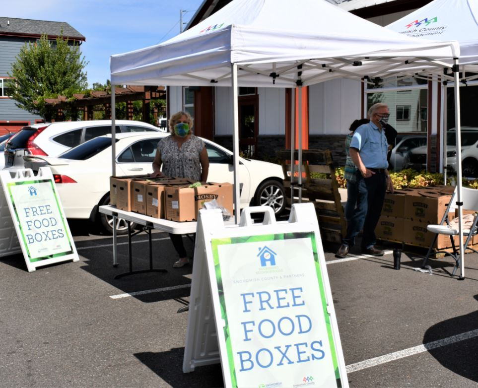 Free Food Boxes - Nourishing Neighborhoods connects those in need to fresh, local produce